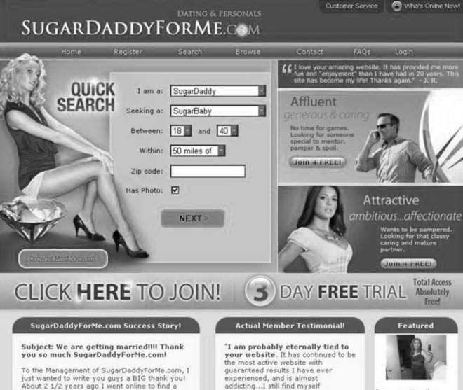 See the 2018 review of SugarDaddyForMe
